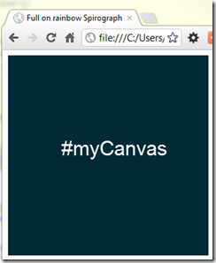 HTML5 canvas example